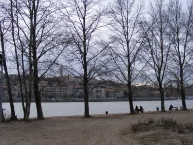 Walking along the Danube